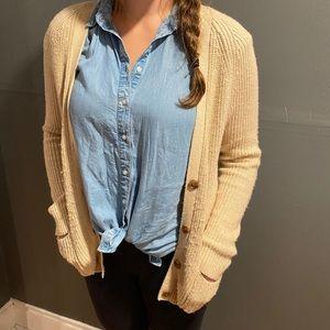 Gap Chunky Knit Cardigan Sweater